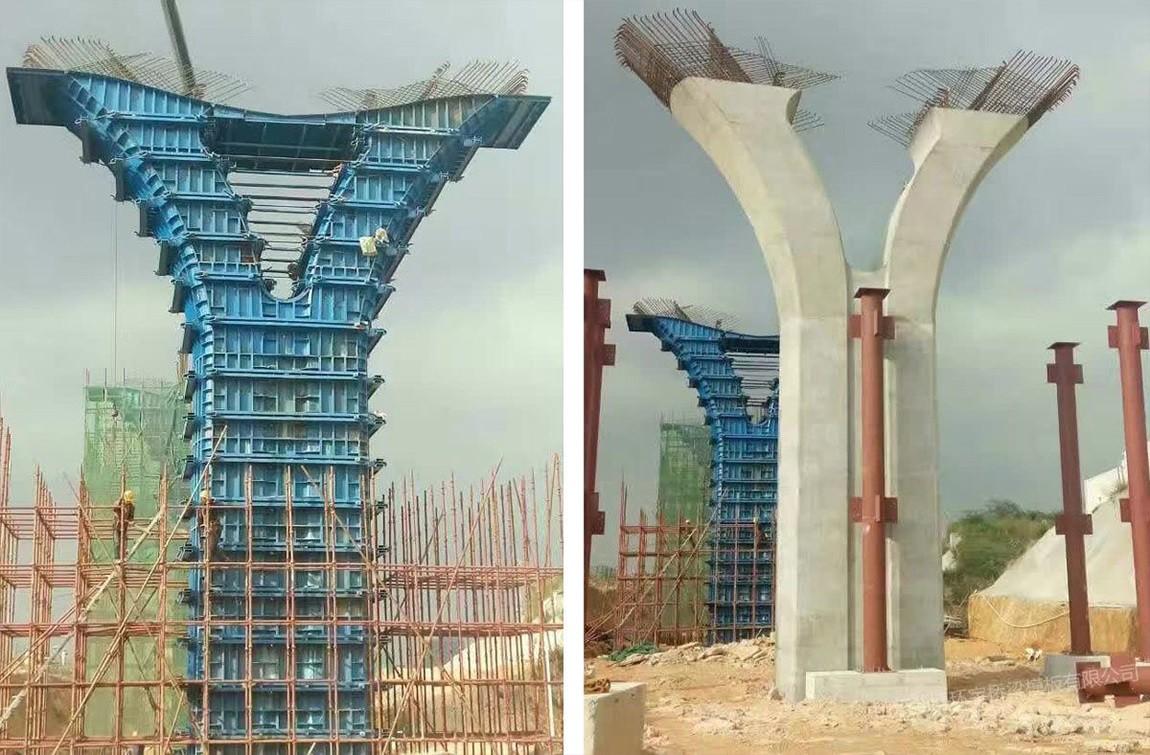 异形墩柱——深圳轨道交通Y型墩柱工程1.jpg